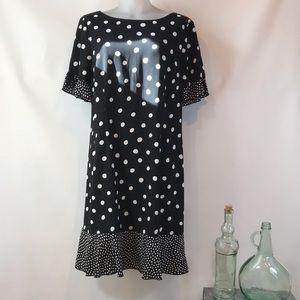 NWT Talbots Polkadot Dress